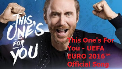 This One's For You, UEFA EURO 2016, Official Song