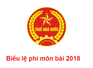 bieu le phi mon bai 2018