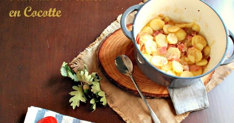 Siguiendo a nenalinda patatas con beicon en cocotte - Cocinar en cocotte ...