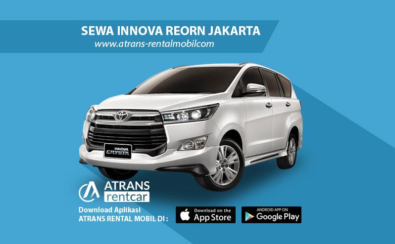 Rental Mobil Inova Reborn 2017 Jakarta