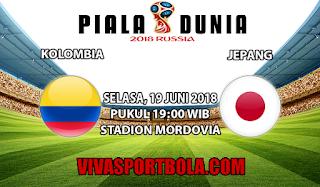 Prediksi Bola Kolombia vs Jepang 19 Juni 2018