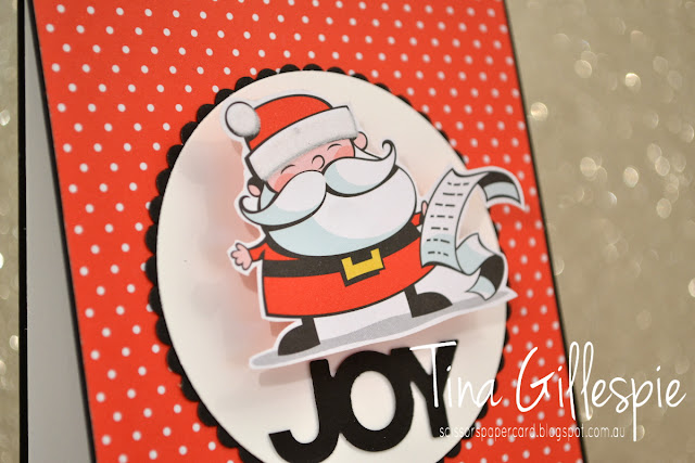 scissorspapercard, Stampin' Up!, Art With Heart, Merry Christmas To All, Santa's Workshop SDSP, Celebrate You Thinlits, Layering Circles Thinlits