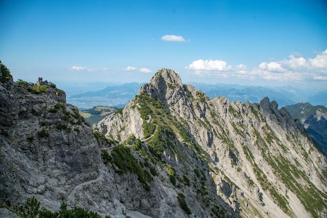 Fürstensteig  Gafadura Hütte - Drei-Schwestern - Gaflei  Wandern in Liechtenstein 11
