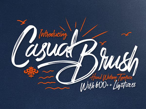 Download Casual Brush Script Font Free