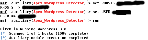 Coding a Simple Wordpress Version Scanner In Metasploit