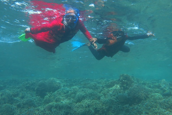 Tetap Syar'i meski Snorkelling