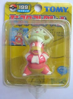 Slowking Pokemon figure Tomy Monster Collection yellow package series