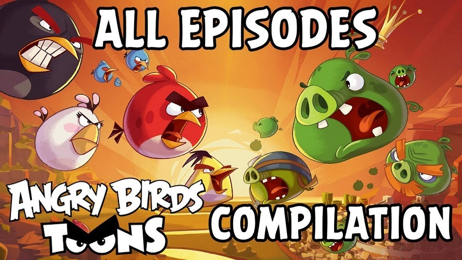 Angry Birds Toons - Desenho Animado Torrent 2013 720p Bluray HD