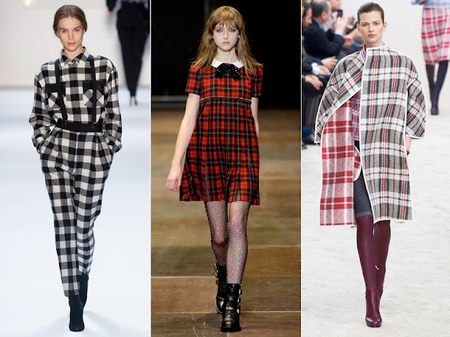 3 Ways to wear plaid this fall