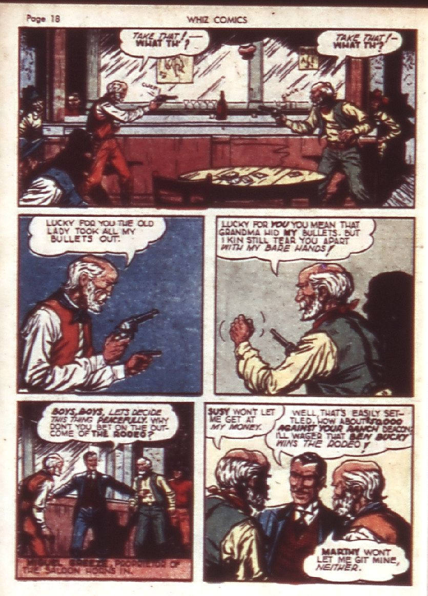 WHIZ Comics issue 23 - Page 20