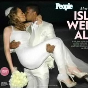 Mariah Carey e Nick Cannon se casam (foto:People)