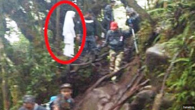 Dikira Hantu Foto Sosok Wanita Berbaju Putih di Hutan Bikin Heboh, Ternyata Ini yang Sebenarnya