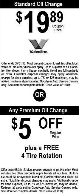 Free-Oil-Change.info: Walmart Oil Change Coupons: Cut Down ...