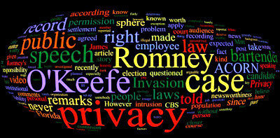 Laws on Privacy and Citizen Journalism