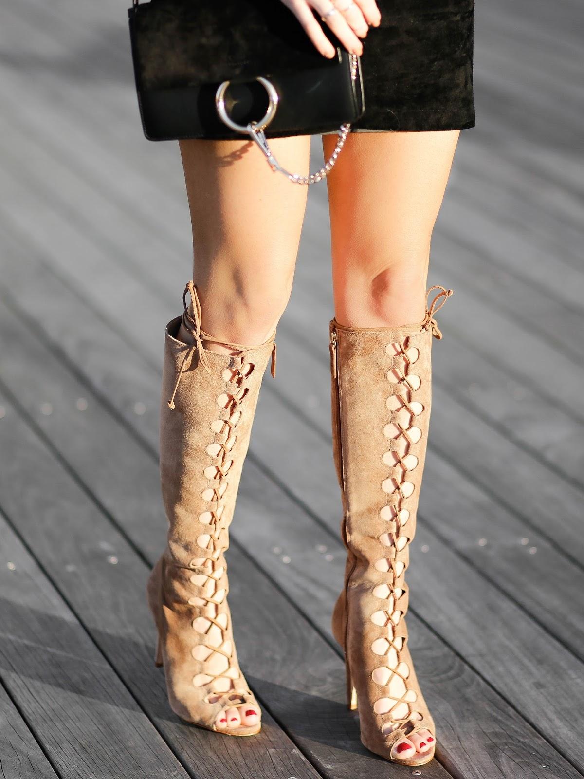 schutz lace up shoes, chloe faye