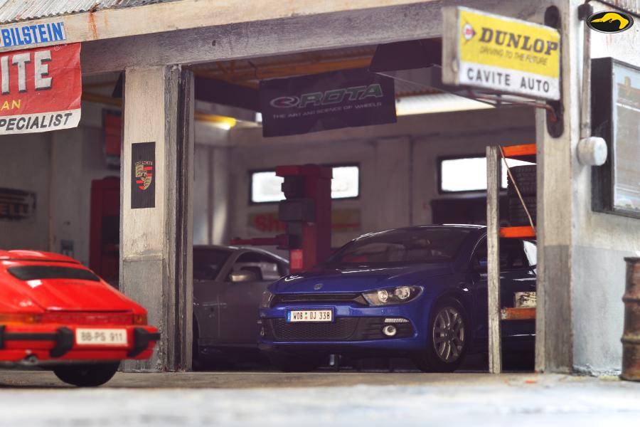 Bowerbird Garage Diorama Cavite Auto Repair Specialis