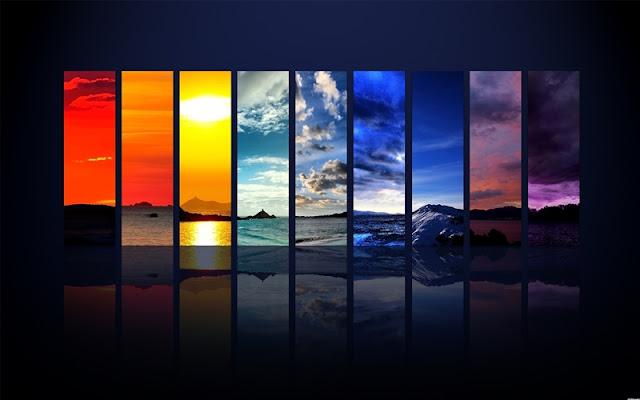 Hình nền máy tính 7 sắc cầu vồng đẹp [Full HD], hinh nen may tinh