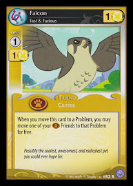 My Little Pony Falcon, Fast & Furious Premiere CCG Card