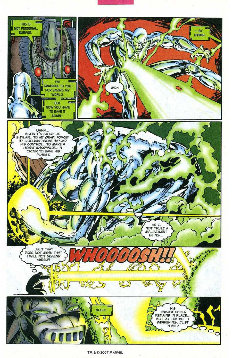 Read online Silver Surfer (1987) comic -  Issue #124 - 21
