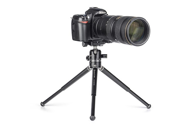 Sunwayfoto XB-28II Ball Head on Sunwayfoto T1A20D Tripod