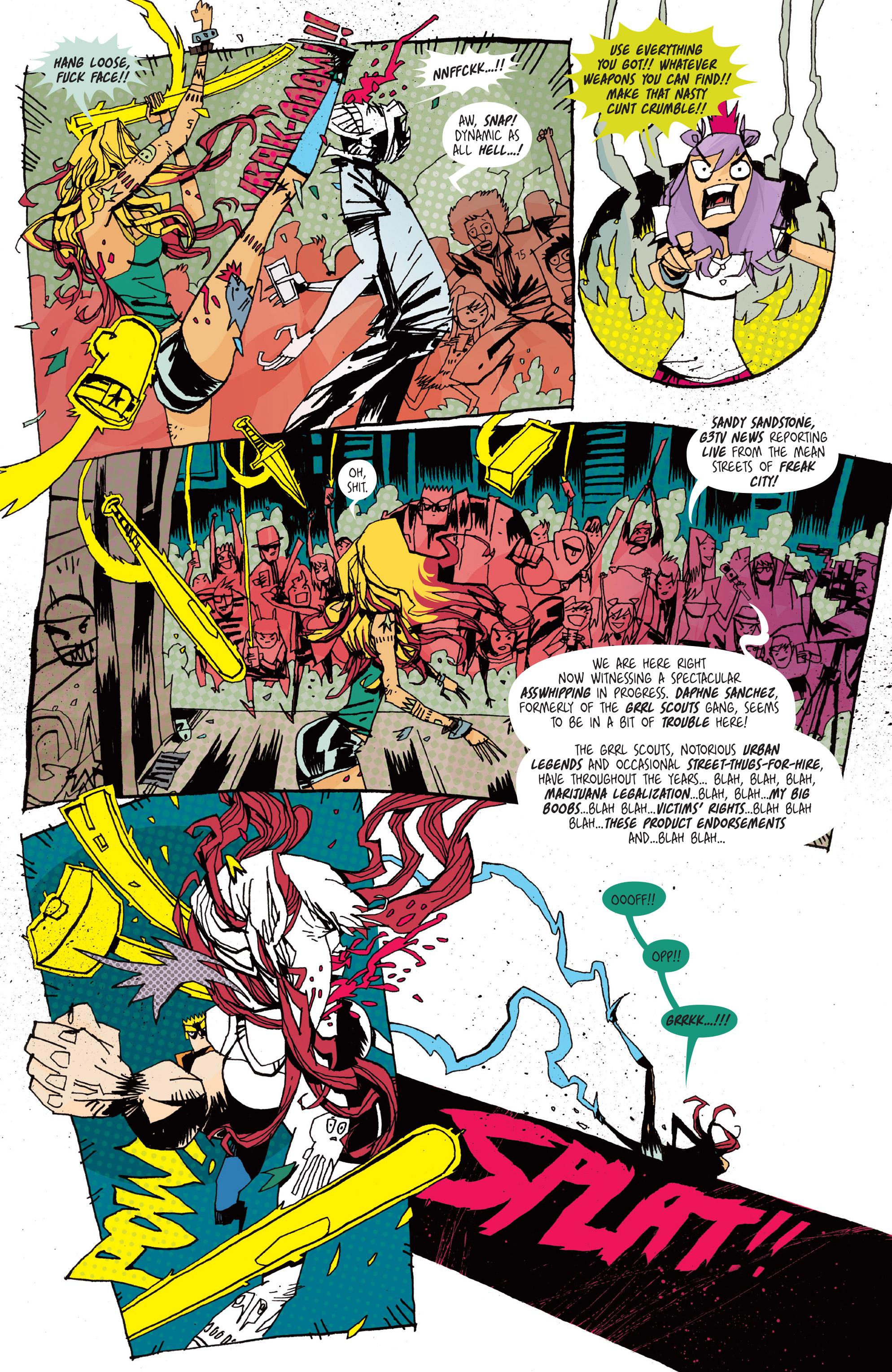 Read online Grrl Scouts: Magic Socks comic -  Issue #2 - 20