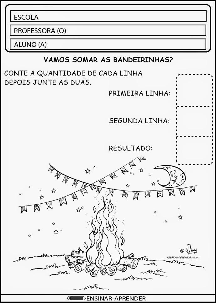 CONFIRA ATIVIDADES ESCOLARES FESTA JUNINA