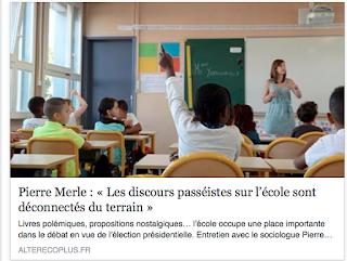 Cafe Pedagogique Interview Nathalie Mons  Fevrier