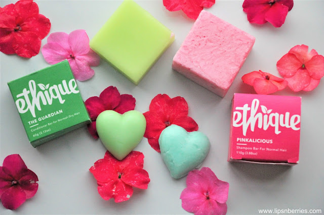 Ethique Damage control shampoo bar review