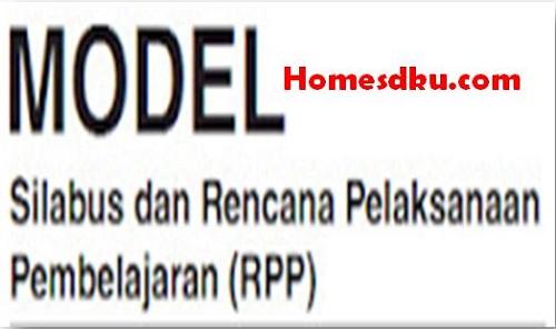 Model Perangkat Pembelajaran Silabus Dan RPP SD/MI Terbaru