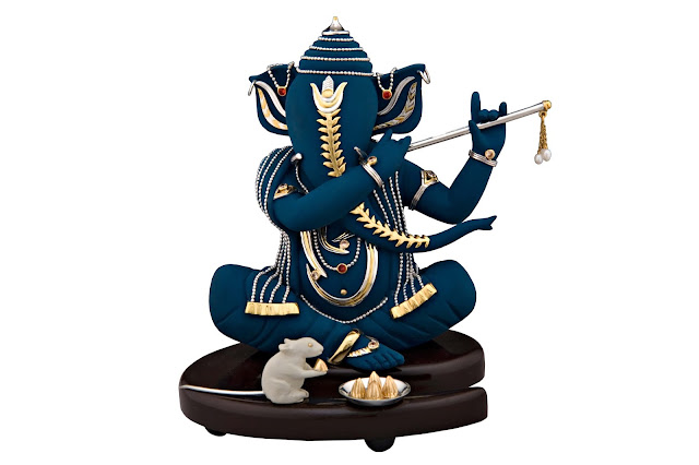 FRAZER AND HAWS-GANESH NEELESH RS,21700 - Ganesha Idols on Ganesh Chaturthi