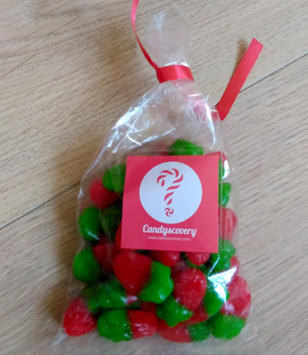 Candyscovery Box bonbons fraises sauvages