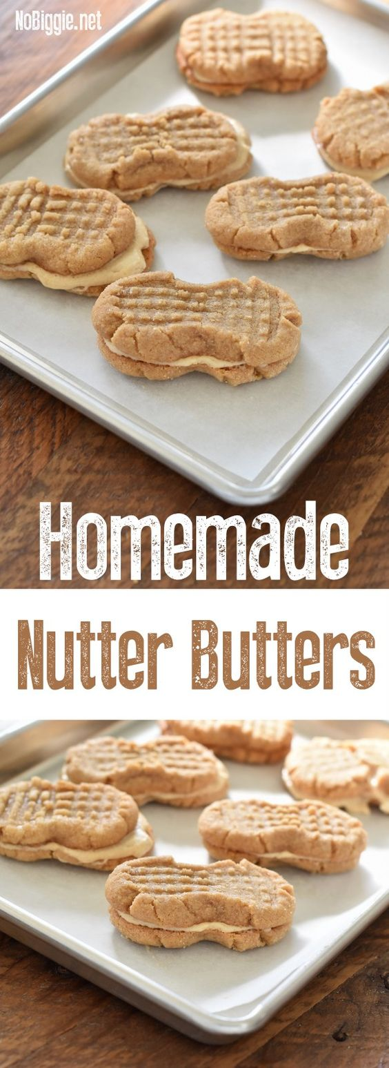 Homemade Nutter Butters #homemade #nutter #butters #cookiesrecipes #cookies #buttercookies