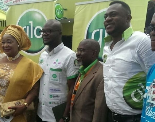 odunlade adekola glo lagos int'l trade fair