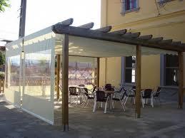 Toldos pergola de madera con laterales - Toldos para pergolas de madera ...