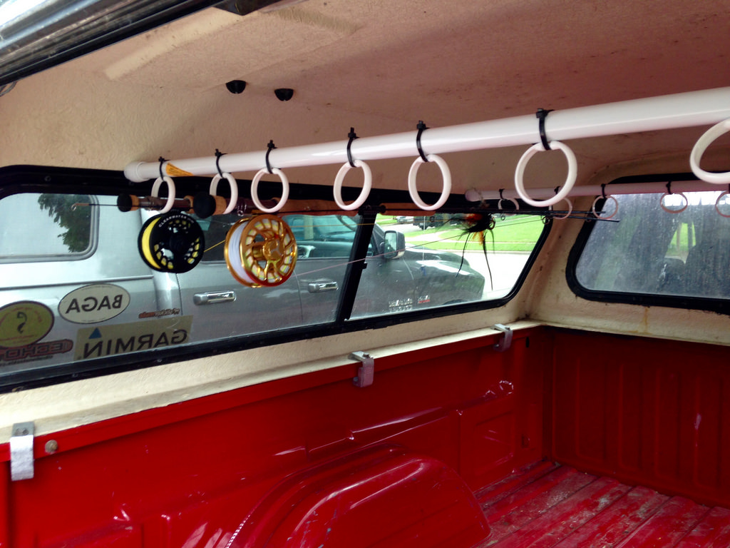 Israel Dunn - Human Powered Angling: DIY Truck Topper Rod ...