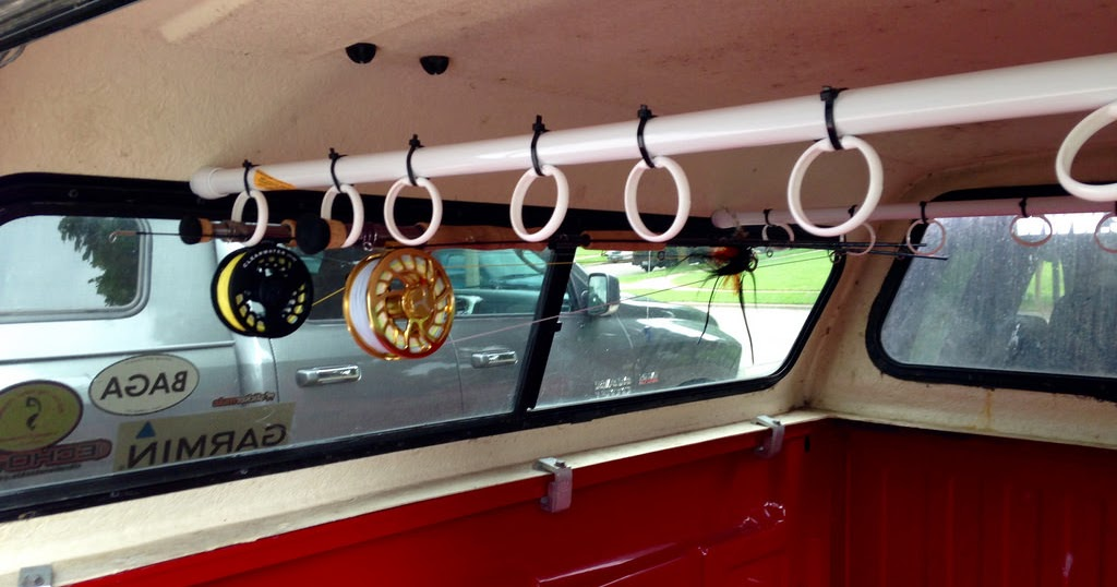 Israel Dunn (Shorebound Hero): DIY Truck Topper Rod Holder