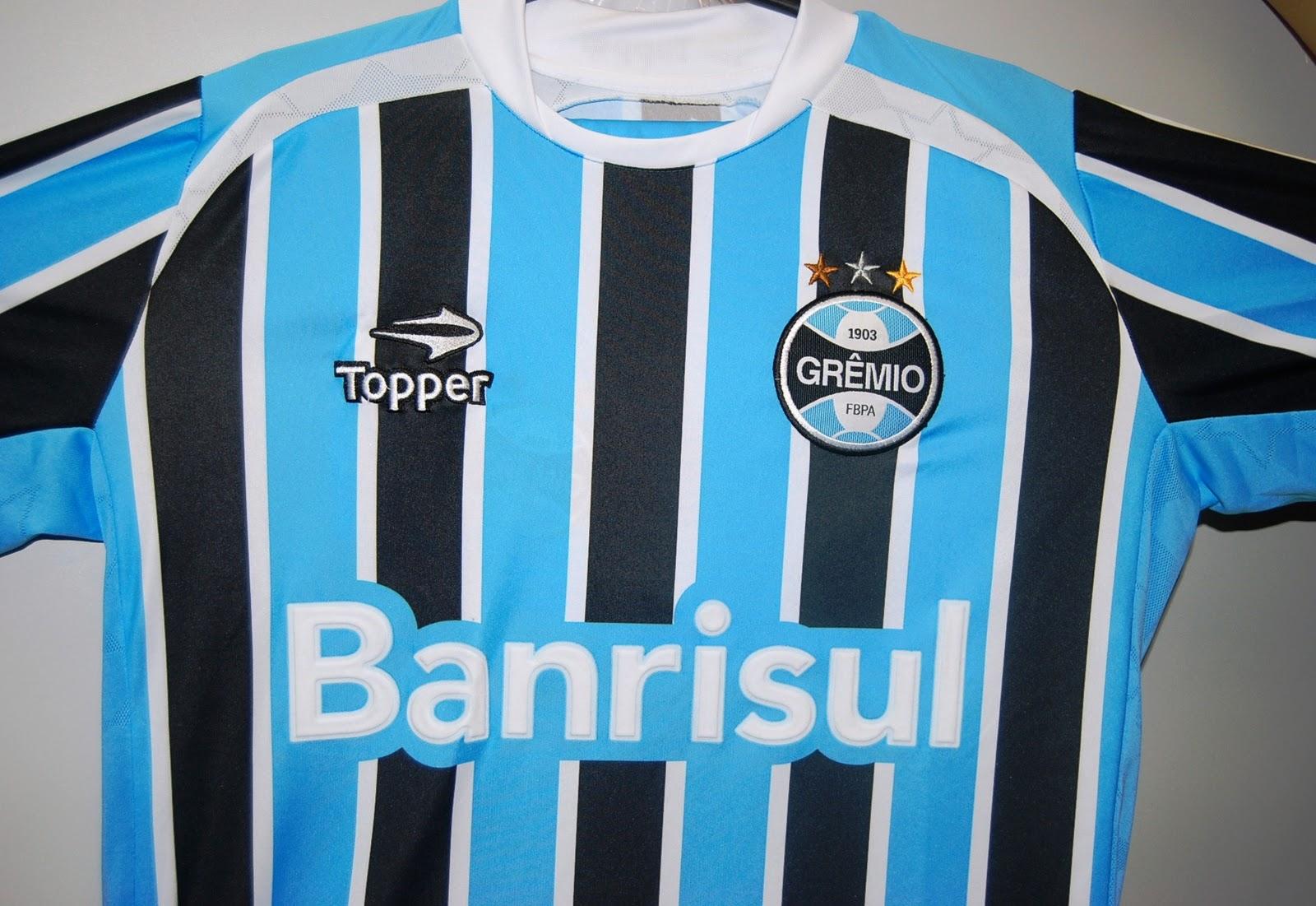 7c8fc327ef Acompanhe ao vivo o lançamento da camisa do Grêmio fabricadas pela Topper