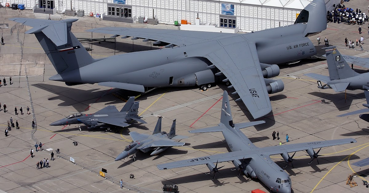 Boeing C5 Galaxy C 130 Hercules And F 15 Eagle Size