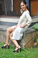 Radhika Cute Young New Actress in White Long Transparent Kurta ~  Exclusive Celebrities Galleries 029.JPG
