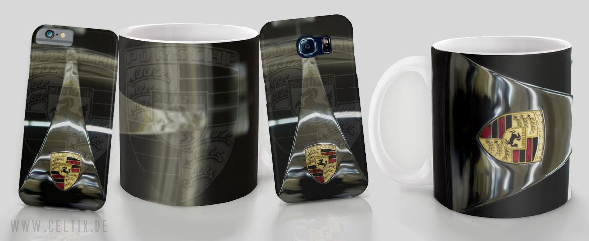 Porsche 356 iPhone Cases ans mugs