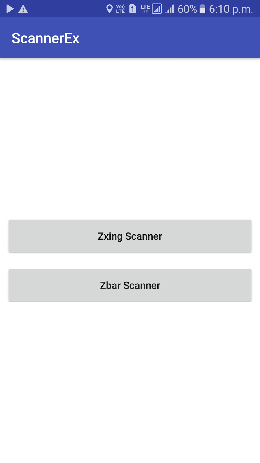 Android Development Tutorials: Simple Barcode and QR code scanner