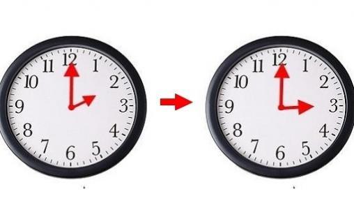 زيادة 60 دقيقة على التوقيت الحالي والعودة للتوقيت الصيفي إبتداء من يوم غد