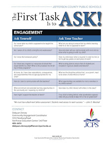 First Task Is To Ask