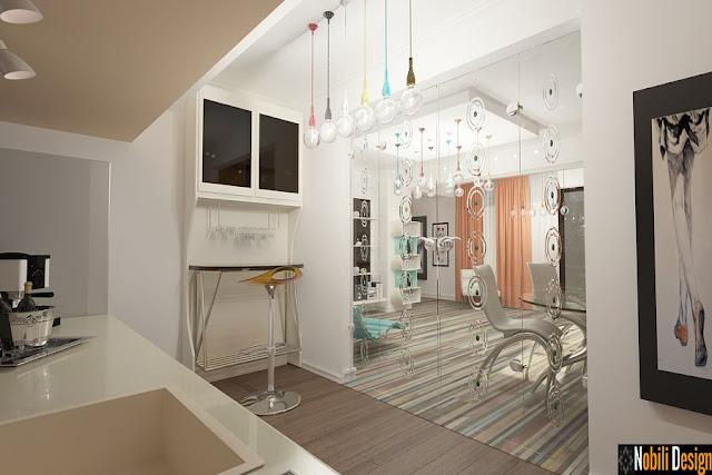 Design interior apartament modern 4 camere - Amenajari interioare case moderne