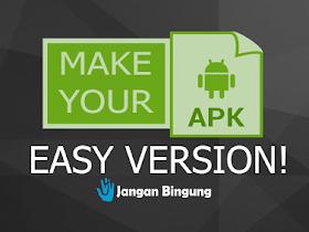 Situs Pembuat Aplikasi Android tanpa Coding - Responsive Blogger Template