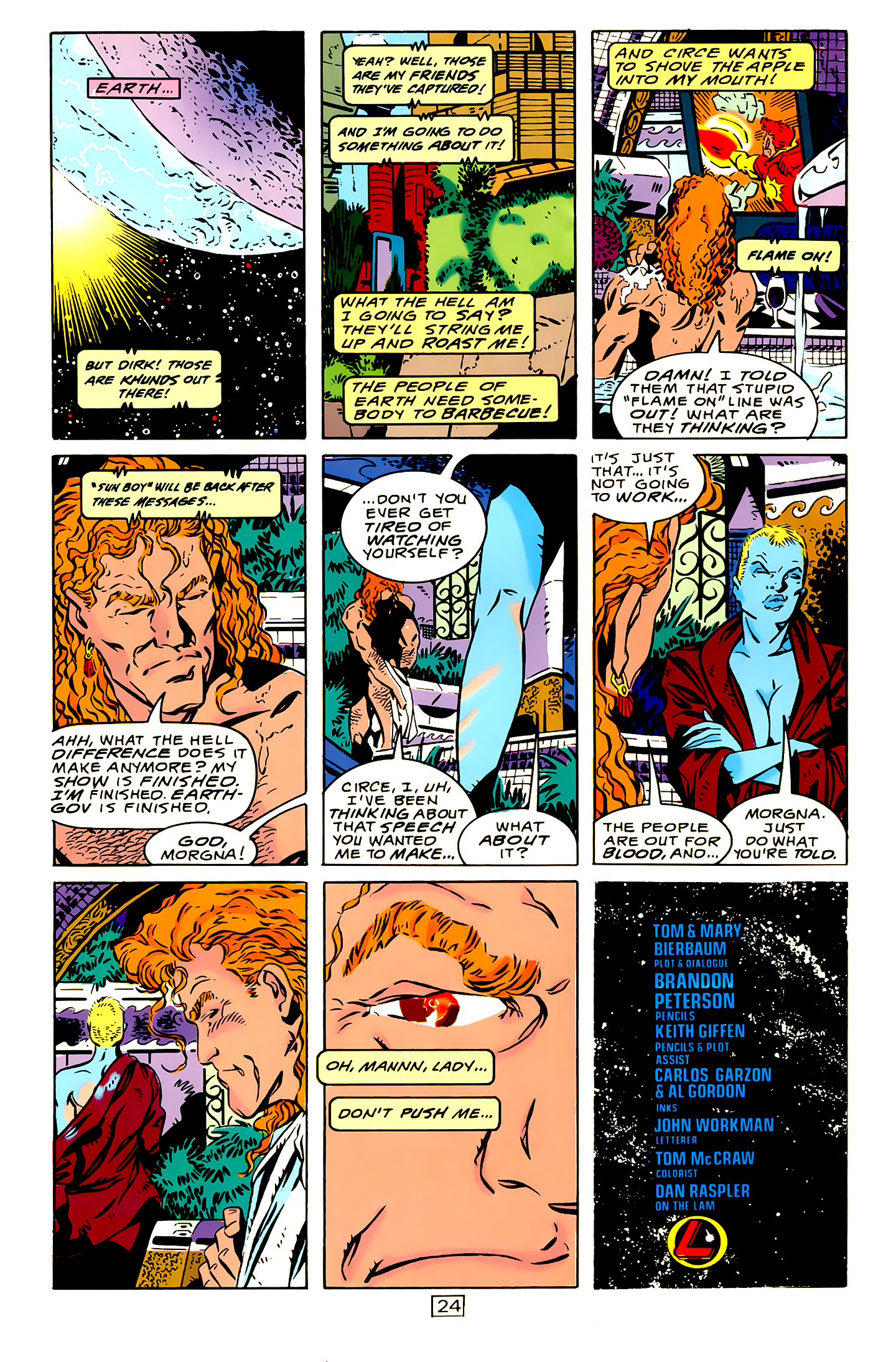 Legion of Super-Heroes (1989) 15 Page 24