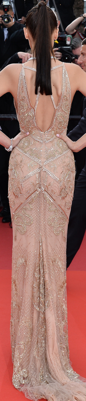 Bella Hadid  in Robetto Cavalli 2016 Cannes Film Festival