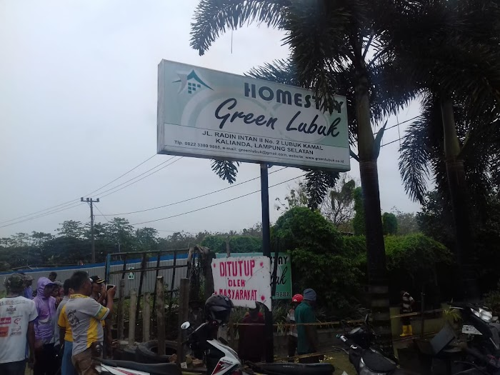Home Stay Grend Lubuk Di kelurahan way lubuk Lamsel Di Tutup Warga Setempat.