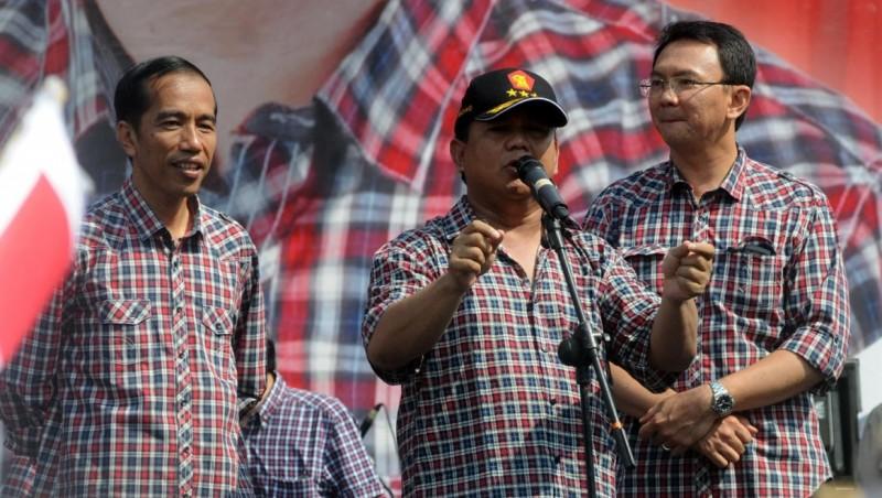 Prabowo saat berkampanye untuk Jokowi-Ahok di Pilgub DKI 2012