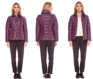 anorak para mujer de color violeta muy barato